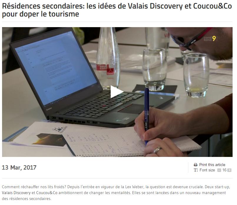 Article de Canal 9 sur Coucou&Co