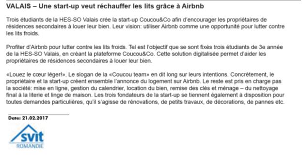 Article SVIT sur Coucou&Co